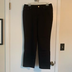 Jones New York signature petite black Jeans